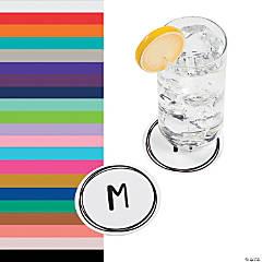 Monogrammed Simple Design Coasters