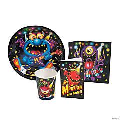 Monster Bash Tableware/Invites