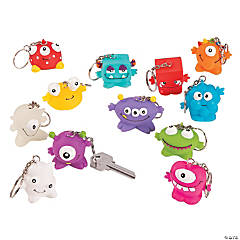 Monster Keychain Collectables