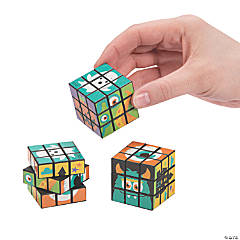 Monster Mini Puzzle Cubes