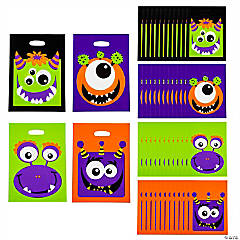Monster Trick-or-Treat Bags