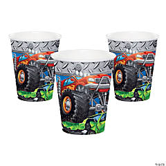Monster Truck Party Cups