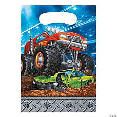 Monster Truck Party Treat Bags