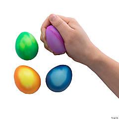 Mood Changing Egg-Shaped Stress Balls