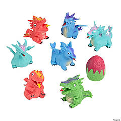 Morphing Flipping Dragons in Eggs