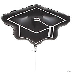 Mortarboard Mylar Balloon
