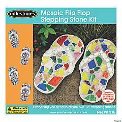 Mosiac Stepping Stone Kit-Flip-Flop