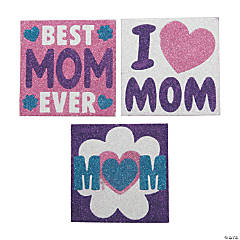 Mother's Day Glitter Art Pictures