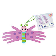 Mother's Day Handprint Butterfly Craft Kit