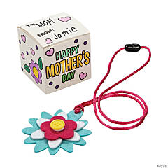 Mother's Day Jewelry Box & Necklace Craft Kit
