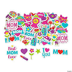 Mother's Day Self-Adhesive Shapes