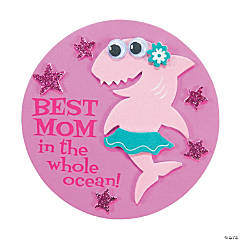 Mother's Day Shark Magnet Craft Kit