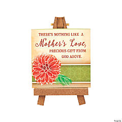 Mother's Love Mini Tabletop Plaque