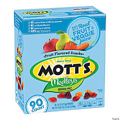Mott's Medleys Fruit Snacks, 0.8 oz, 90 Count