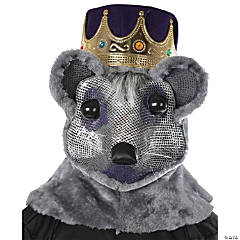 Mouse King Headpiece Costume with Purple & Red Crown