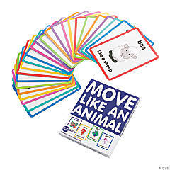 Move Like an Animal Action Cards