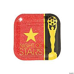 Movie Night Paper Dessert Plates - 8 Ct.