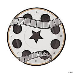 Movie Night Paper Dessert Plates