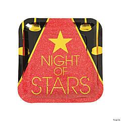 Movie Night Paper Dinner Plates - 8 Ct.