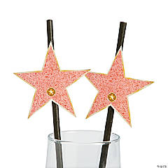 Movie Night Paper Straws