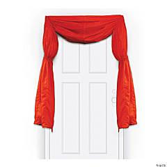 Movie Night Red Door Curtain