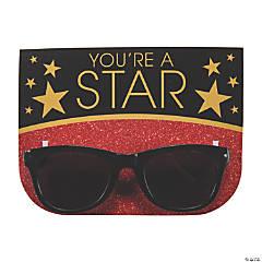 Movie Night Sunglasses with Card