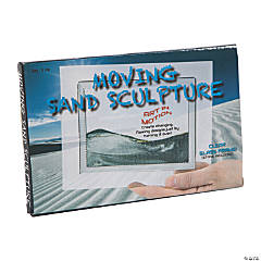 Moving Sand Sculpture