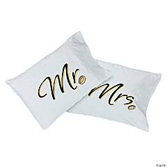 Mr. & Mrs. Pillow Cases
