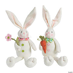 Mr. & Mrs. Stuffed Easter Bunny