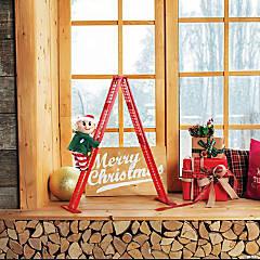 Mr. Christmas Elf Tabletop Climber