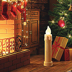 Mr. Christmas Gold Blow Mold Candle