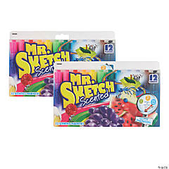 Mr. Sketch® Scented Markers, 24 count