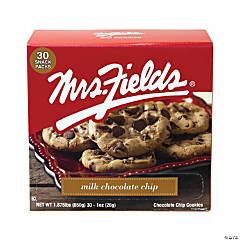 MRS FIELDS Milk Chocolate Chip Cookies, 1 oz, 30 Count
