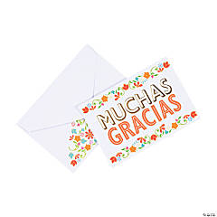 Muchas Gracias Thank You Cards