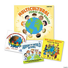 Multicultural Songs and Dances - 3 CD Set