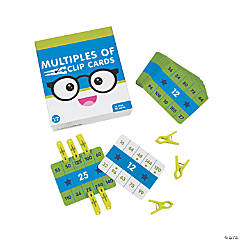 Multiples Of Clip Cards