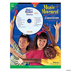 Music & Movement in the Classroom Program with CDs - PreK-Kindergarten