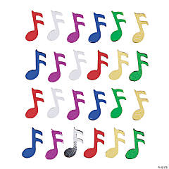 Music Note Confetti