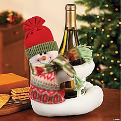 Musical Snowman Bottle Hugger
