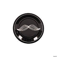 Mustache Party Paper Dessert Plates