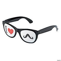 Mustache Pinhole Glasses