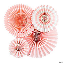 My Mind's Eye™ Coral Hanging Fans