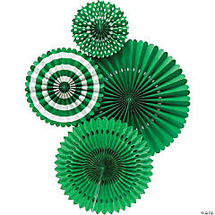 My Mind's Eye™ Green Hanging Fans