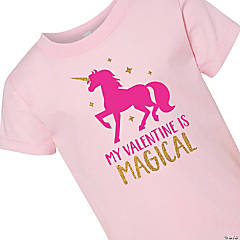 My Valentine Is Magical Toddler T-Shirt