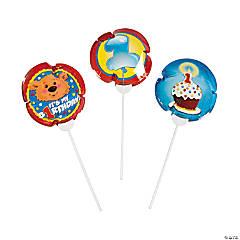Mylar 1st Birthday Bear Self-Inflating Balloons