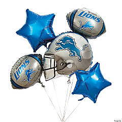 Mylar NFL® Detroit Lions™ Balloon Set
