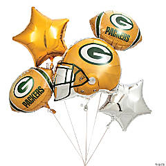 Mylar NFL® Green Bay Packers™ Balloon Set