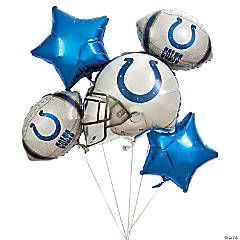 Mylar NFL® Indianapolis Colts™ Balloon Set