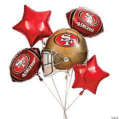Mylar NFL® San Francisco 49ers™ Balloon Set