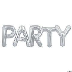 Mylar Party Balloon Kit